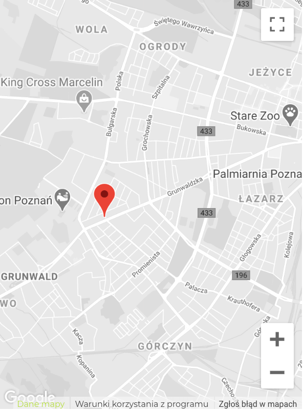 mapa anmedica lokalizacja