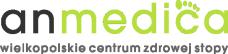 Logo anmedica - wielkopolskie centrum zdrowej stopy