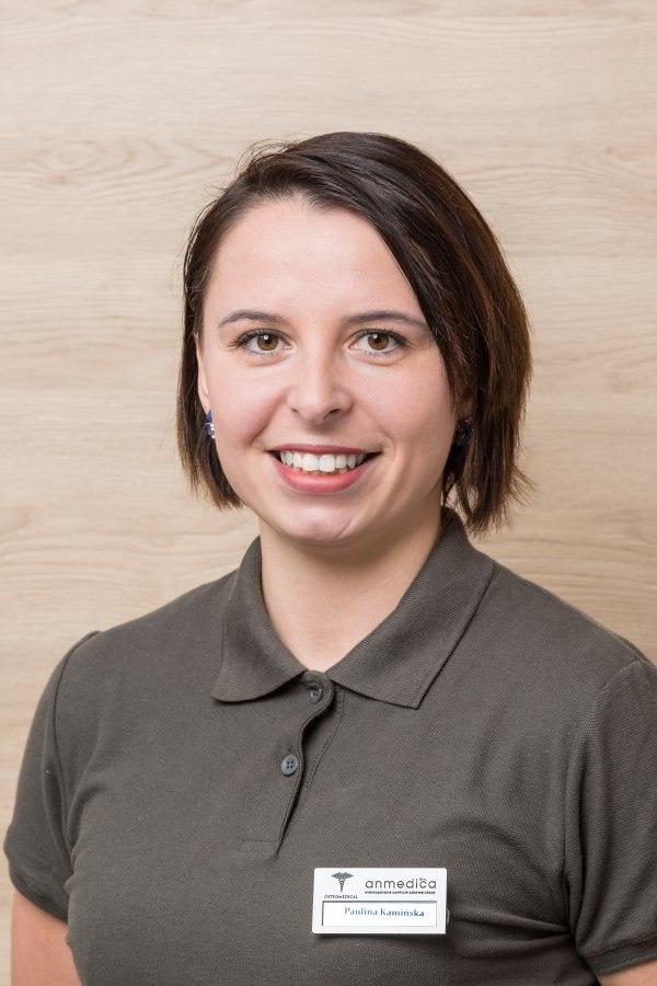Paulina Kamińska to Fizjoterapeuta, terapeuta manualny, terapeuta kompleksowej terapii przeciwobrzękowej w Anmedica