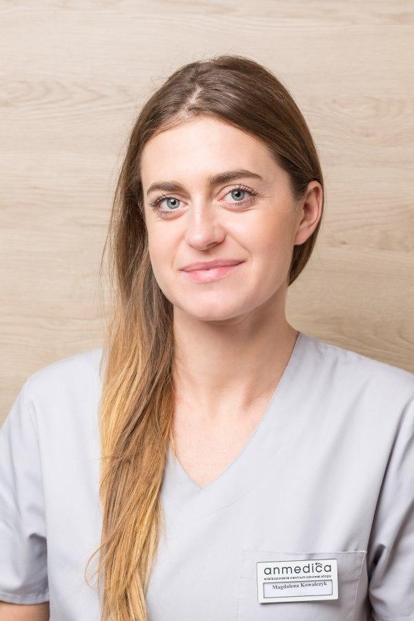 Magdalena Kowalczyk to specjalistka podolog w Poznaniu